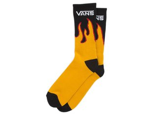 "Vans ""Flames Crew"" Socks - Flame"