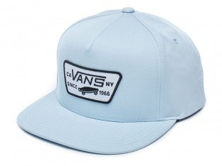 "Vans ""Full Patch"" Kappe - Baby Blue"