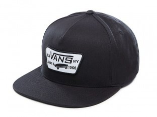 "Vans ""Full Patch Snapback"" Cap - True Black"