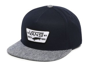 "Vans ""Full Patch Snapback"" Cap - Dress Blues/Navy"