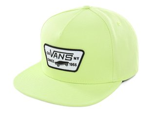 "Vans ""Full Patch Snapback"" Kappe - Sharp Green"