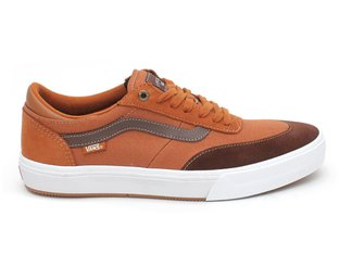 "Vans ""Gilbert Crockett Pro 2"" Shoes - Leather Brown/Potting Soil"
