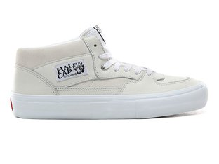 "Vans ""Half Cab Pro"" Schuhe - (Leather) White"