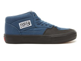 "Vans ""Half Cab Pro"" Shoes - (X-Tuff) Dark Denim/Black"