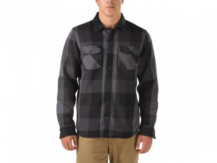 "Vans ""Hixon Flannel"" Hemd - Black/Charcoal"