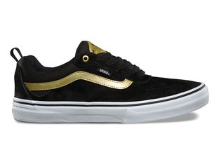 "Vans ""Kyle Walker Pro"" Shoes - Black/Metallic Gold"