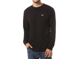 "Vans ""Left Chest Hit"" Longsleeve - Black-Sulphur Spring"