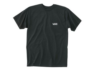"Vans ""Left Chest Logo"" T-Shirt - Black/White"