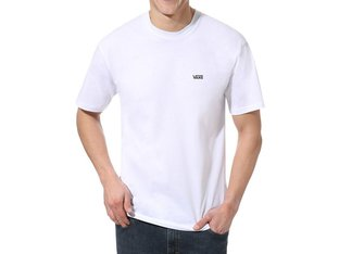 "Vans ""Left Chest Logo"" T-Shirt - White/Black"