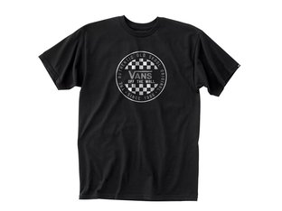 "Vans ""OG Checker"" T-Shirt - Black"