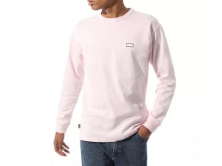 "Vans ""Off The Wall Classic Graphic"" Longsleeve - Vans Cool Pink"