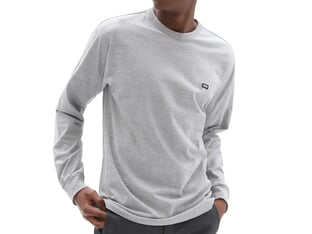"Vans ""Off The Wall Classic"" Longsleeve - Athletic Heather"