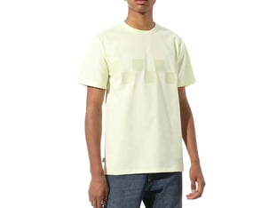"Vans ""Off The Wall Elevated"" T-Shirt - Tender Yellow"