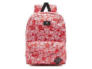 "Vans ""Old Skool II"" Rucksack - Otw Mash Up (Red/White)"