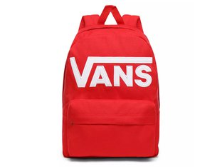 "Vans ""Old Skool III"" Backpack - Racing Red"