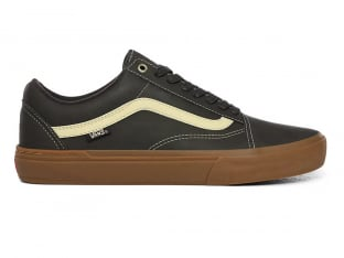 "Vans ""Old Skool Pro BMX"" Shoes - (Dennis Enarson) Olive/Gum"