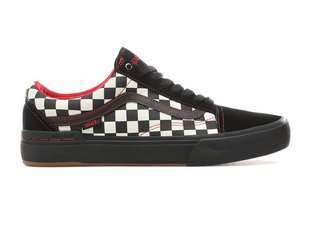 "Vans ""Old Skool Pro BMX"" Shoes - (Kevin Peraza) Black/Checkerboard"