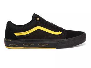 "Vans ""Old Skool Pro BMX"" Shoes - (Larry Edgar) Black/Yellow"