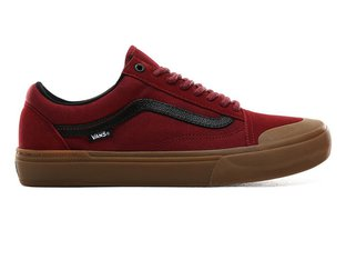 "Vans ""Old Skool Pro BMX"" Schuhe - (Ty Morrow) Biking Red/Gum"