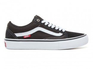 "Vans ""Old Skool Pro"" Shoes - Black/White"