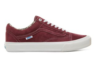"Vans ""Old Skool Pro"" Shoes - (Ray Barbee) Og Burgundy"