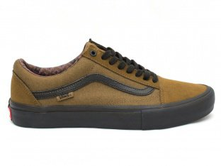 "Vans ""Old Skool Pro"" Shoes - Teak/Black (Dakota Roche)"