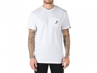 "Vans ""Royal Roses Pocket"" T-Shirt - White"