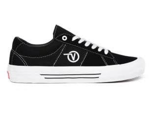 "Vans ""Saddle Sid Pro"" Shoes - Black/White"