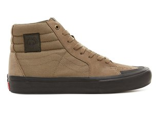 "Vans ""Sk8-Hi Pro"" Shoes - Covert Green/Black (Dakota Roche)"