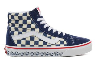 "Vans ""Sk8-Hi Reissue"" Shoes - (Vans BMX) True Navy/White"