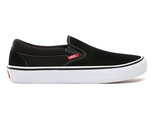 "Vans ""Slip-On Pro"" Shoes - Black/White/Gum"