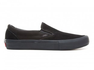 "Vans ""Slip-On Pro"" Shoes - Blackout"