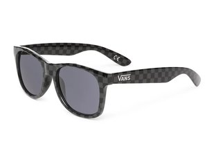 "Vans ""Spicoli 4"" Sunglasses - Black/Charcoal Checkerbrd"