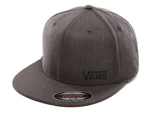 "Vans ""Splitz Flexfit"" Kappe - Charcoal Heather"