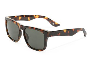 "Vans ""Squared Off"" Sunglasses - Cheetah Tortoise/Dark Grn"