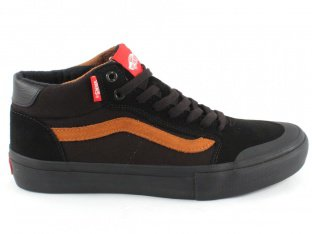 "Vans ""Style 112 Mid Pro"" Shoes - Black/Glazed Ginger (Dakota Roche)"