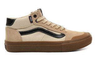 "Vans ""Style 112 Mid Pro"" Shoes - (Ty Morrow) Magadamia/Gum"