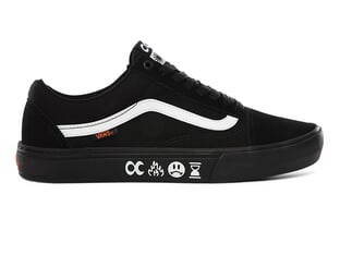 "Vans X Cult ""Old Skool Pro BMX"" Shoes - (Cult) Black/Black"