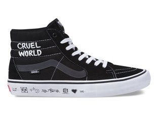"Vans X Cult ""Sk8-Hi Pro"" Shoes - (CULT) Black/White"