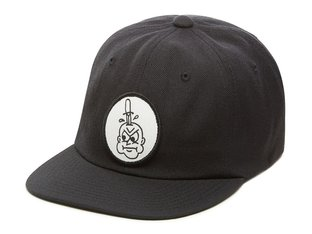 "Vans X Cult  ""Vintage Unstructured"" Cap - Black"