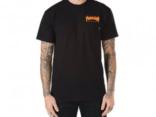Vans X Trasher Pocket T-Shirt - Black
