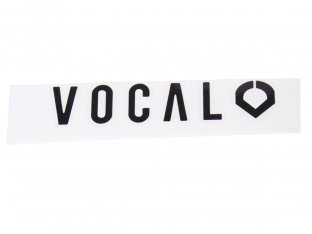 "Vocal ""Die Cut"" Sticker"