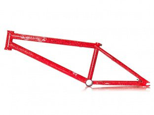 "Volume Bikes ""Bermuda V2"" BMX Frame - Red Hot"