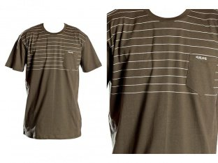 "Volume Bikes ""Stripes Pocket"" T-Shirt - Olive"