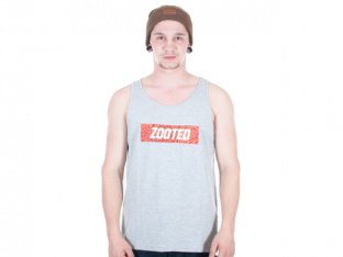 "Zoo York ""Zooted Jersey"" Tank Top - Grey"