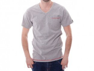 "Chico Clothing ""Catchall grey/red"" T-Shirt"
