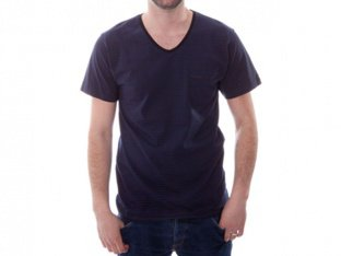 "Chico Clothing ""Catchall 1/2 navy-blau/grau"" T-Shirt"