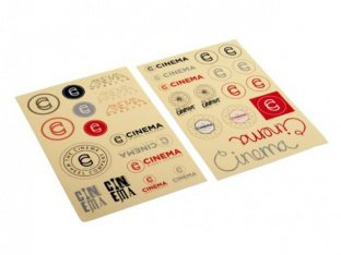 "Cinema Wheel Co. ""2 Sheets"" Stickerset"