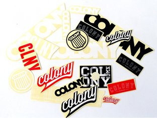 "Colony Bikes ""2013 Logo"" Stickerset"