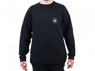 "eclat ""Circle Icon"" Pullover - Black"